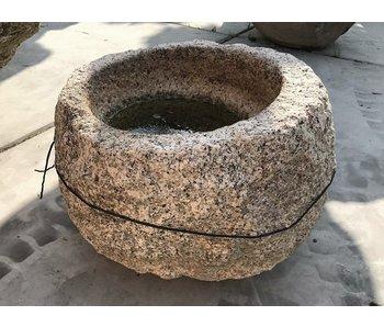 Mortaio giapponese Tsukubai 35 cm