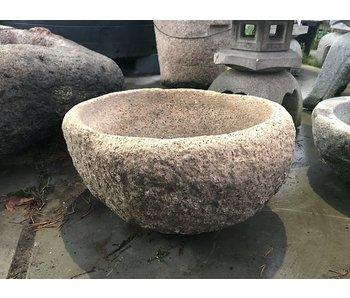 Japanse Tsukubai schaal 27 cm
