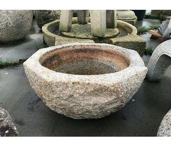 Japanse Tsukubai schaal 31 cm