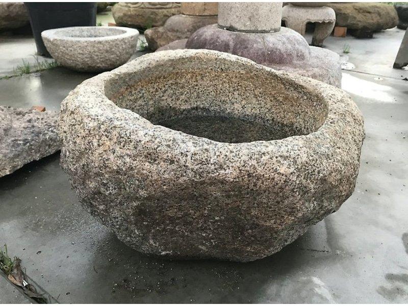 Mortier japonais Tsukubai 30 cm