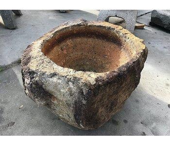 Japanischer Tsukubai-Mörser 31 cm