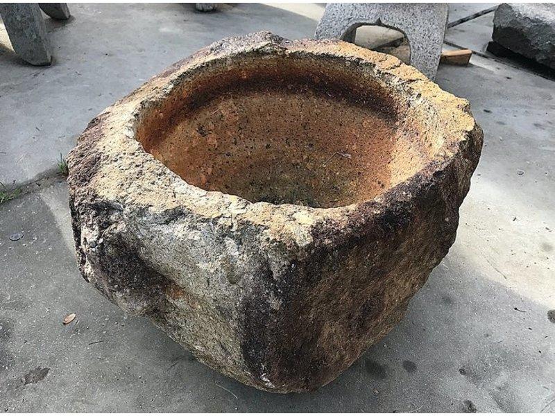Mortier japonais Tsukubai 31 cm