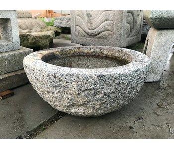 Japanse Tsukubai schaal 24 cm