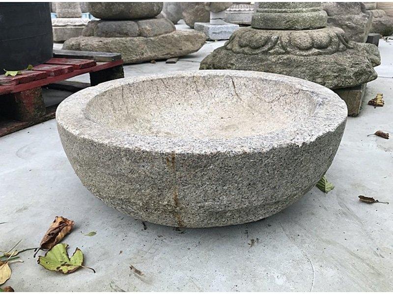 Japanse Tsukubai schaal 18 cm
