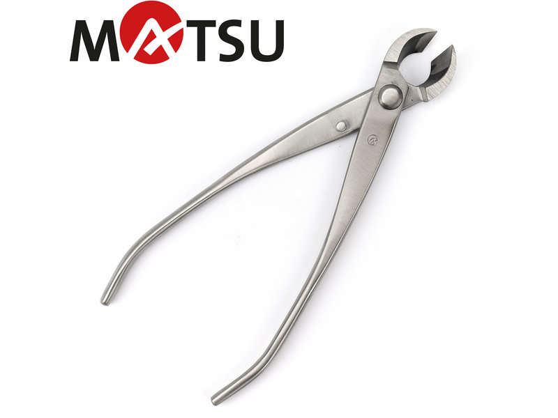 Stainless steel concave pliers 'spherical' 180 mm