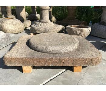 Japanese Foundation Stone Garan 20 cm