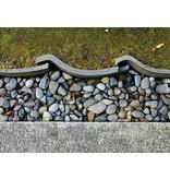 Japanse Antieke Keramische Dakpannen 5 cm