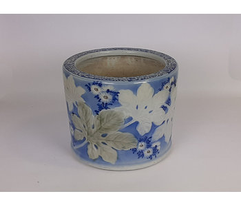 Japanese Hibachi Flower Pot Porcelain 25 cm