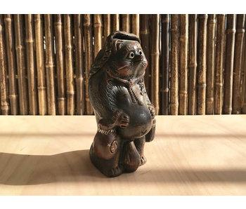 Ceramica giapponese Tanuki 29 cm