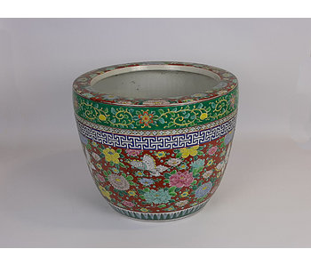 Japanese Hibachi Flower Pot Porcelain 30 cm