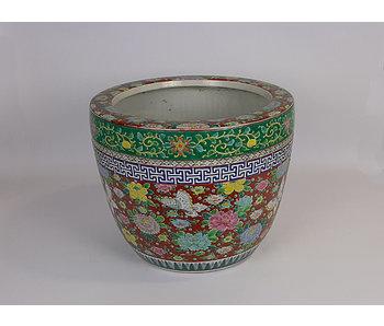 Pot de fleurs japonais Hibachi en porcelaine 30 cm