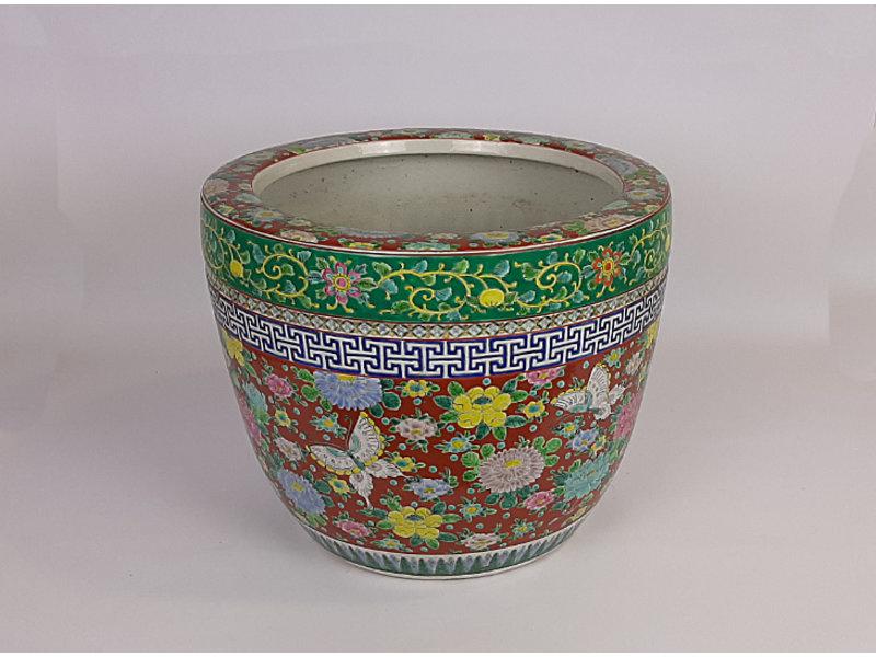 Japanse Hibachi Bloempot Porselein 30 cm