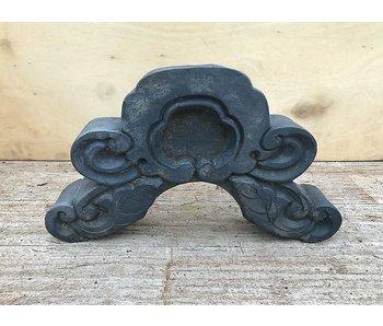 Ornamento per tetto in ceramica giapponese antico 25 cm
