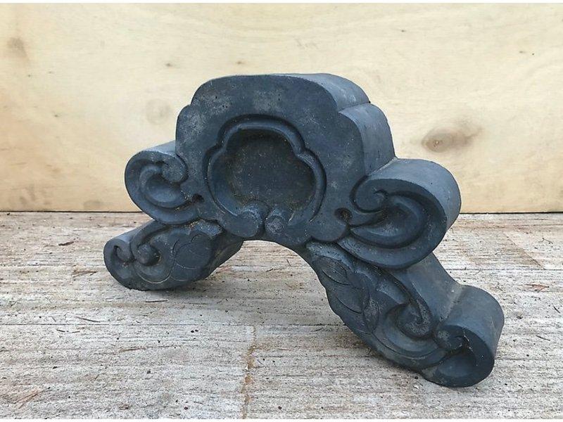 Japans antiek keramisch dakornament 25 cm