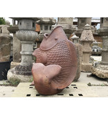 Japanse Keramische Koi Karper Vaas 94 cm