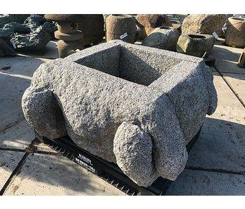 Enclos de puits japonais en pierre Izutsu 60 cm