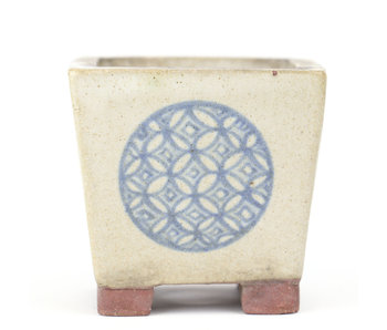 52 mm square multicolor pot from Japan