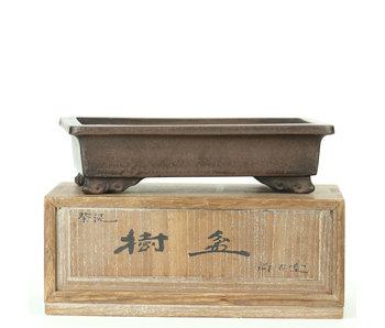 156 mm antieke Chinese bonsaischaal van Shokodo, China