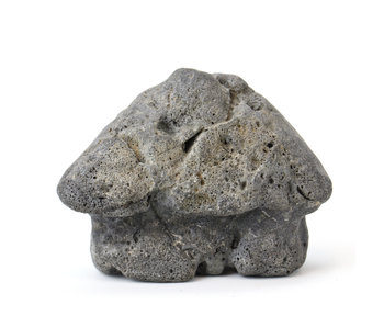 75 mm suiseki from Japan in hut stone style