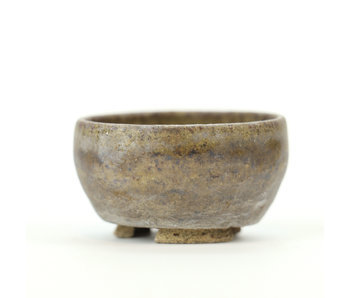 42 mm round grey pot from Japan