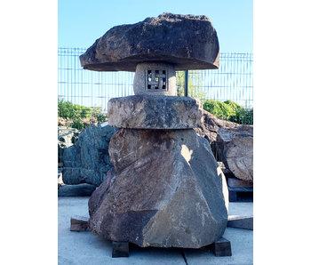 Lanterna di pietra giapponese Nozura-dōrō 200 cm