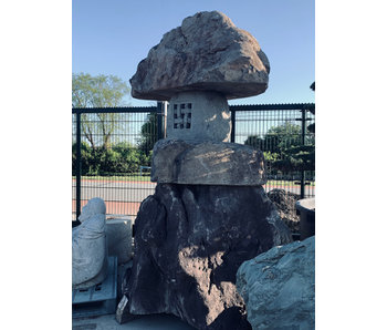 Japanse Stenen Lantaarn Nozura-dōrō 310 cm