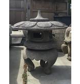 Japanese Stone Lantern Maru Yukimi Gata Ishidōrō 84 cm