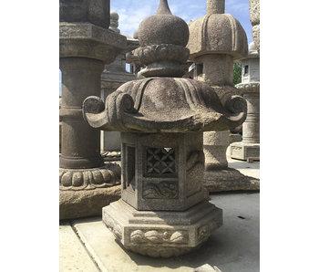 Japanese Stone Lantern Part Kasuga Gata Ishidōrō 135 cm