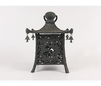 Japanese Antique Metal Lantern Ryūjin Tsuridōrō 29 cm