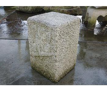 Japanese Stone Pillar Fukurō no Ishibashira 49 cm