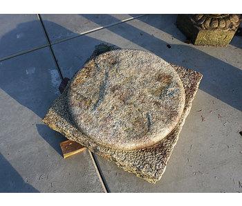 Japanese Foundation Stone Garan 28 cm