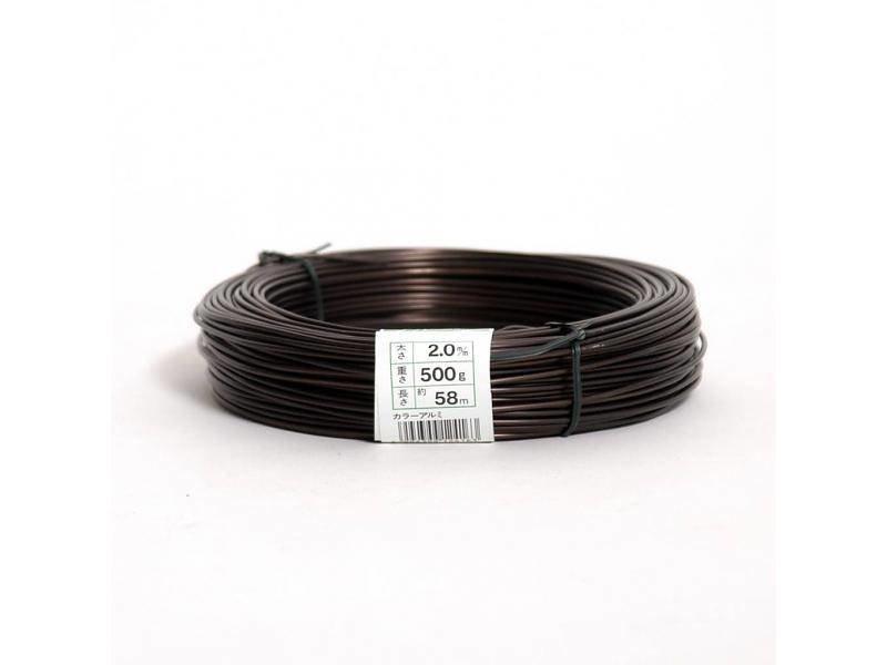 500 Gramm Aluminiumdraht 4,0 mm