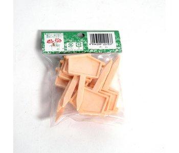 Etichette giapponesi piccole