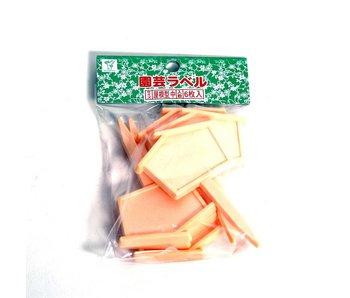 Japanse labels middel