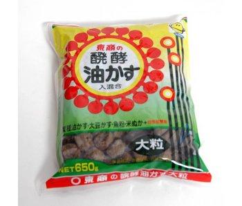 Aburakasu manure 650 grams large granules ± 30 mm