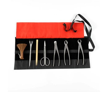 8 piece bonsai tool set stainless steel, M/L (~210 mm)