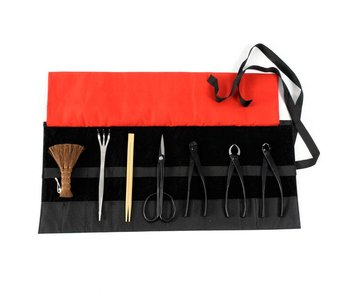 8 piece bonsai tool set steel, S/M (~180 mm)