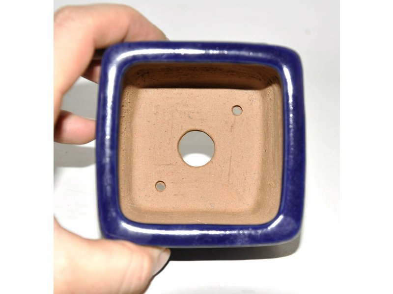 Bonsai Topf blau 9 cm Shibakatso
