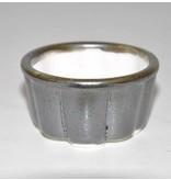Bonsai pot grijs 5,5 cm