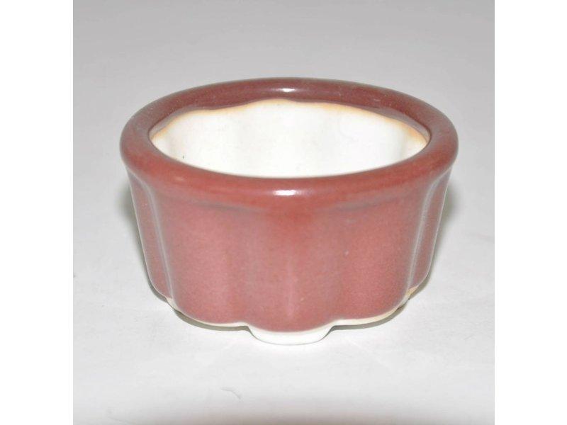 Bonsai pot rood 5,8 cm