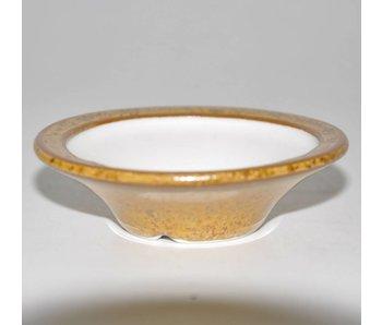 Bonsai pot light brown 7 cm