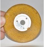 Bonsai pentola marrone chiaro 7 cm