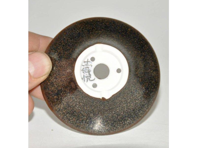 Bonsai pot zwart 7 cm