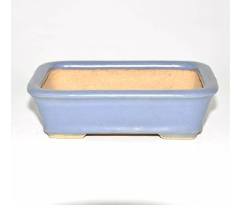 Bonsai pot light blue 13,5 cm
