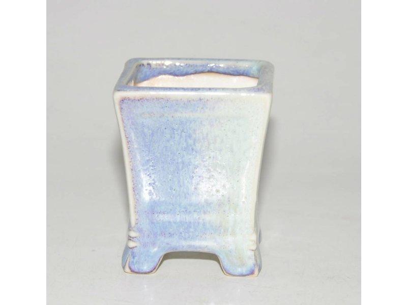 Bonsai Topf hellblau 5 cm