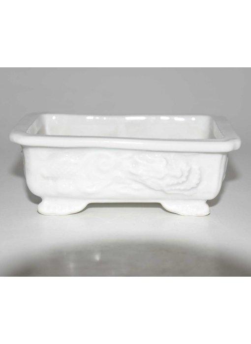 Porcelain dragon, shohin pot S