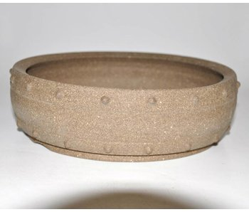 Bonsai pot marrone 25 cm