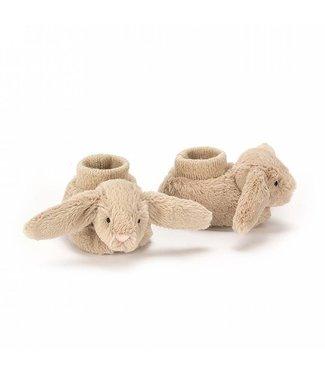 Jellycat Beige Bashful bunny booties