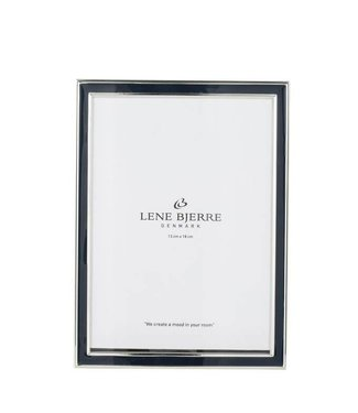 Lene Bjerre Dark navy frame 5 by 7""