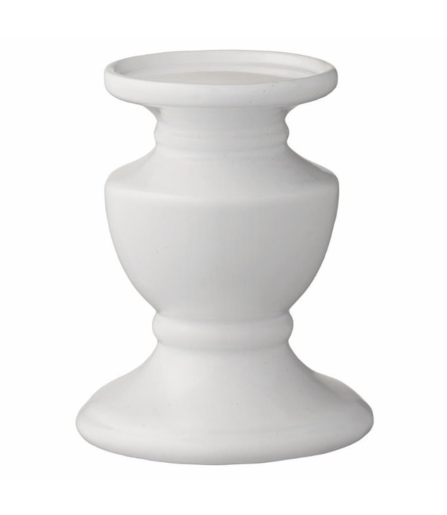 Lene Bjerre Small white Pretoria candlestick